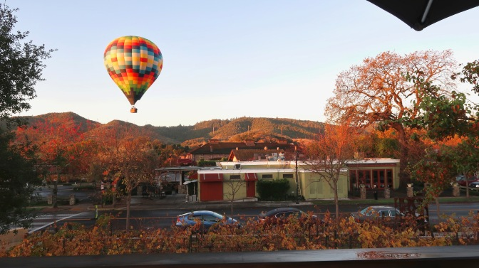 I LEFT MY HEART IN…NAPA??